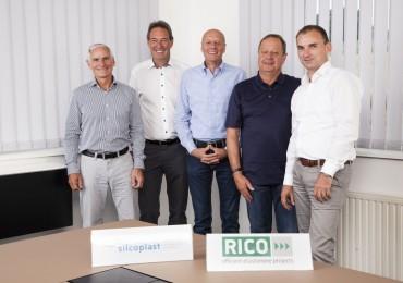 Geschäftsführung Rico und Silcoplast